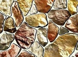 Пример облицовки фасада камнем