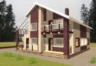 Дизайн фасадной части дома