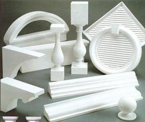 Примеры элементов для фасадного декора