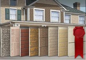 Ассортимент декоративных фасадных панелей