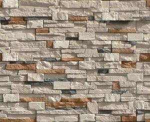 Пример использования фасадной плиты из камня
