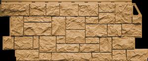 Длинная фасадная панель под камень