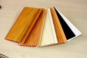 Разные цвета фасадных пластиковых панелей