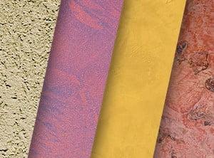 Разные цвета штукатурки