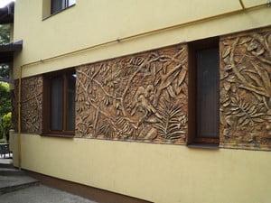 Утепление фасада дома цена за м2