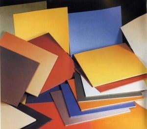 Цветные плиты из керамогранита