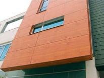 Керамические панели на фасаде