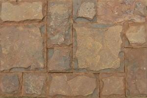 Укладка камня стилем Кастл