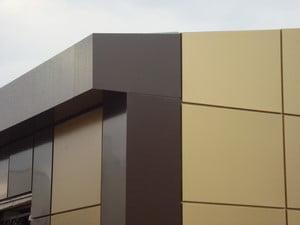 Вентилируемый фасад с плиткой
