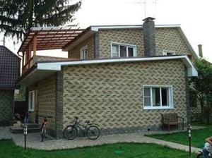 Дом, облицованный керамоплиткой