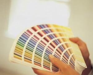 Расцветки для выбора фасадной краски