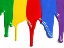 Подтеки краски