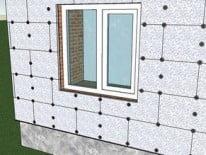 Пенопласт для утепления дома