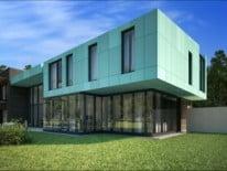 Облицованный дом