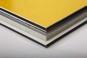Фасадные алюминиевые плиты