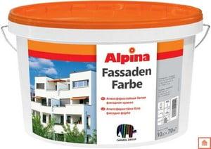 Банка краски Альпина
