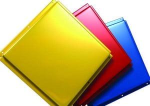 Разноцветные металлические кассеты