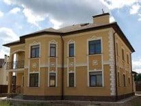 Оштукатуренный фасад