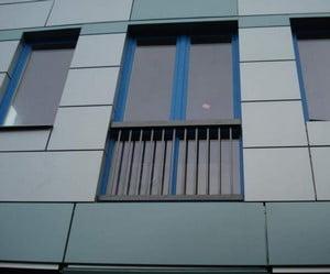 Фасад из алюминиевых плит