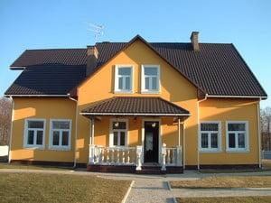 Стильный частный дом