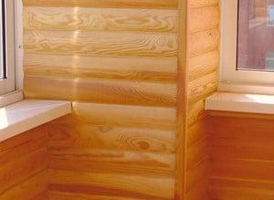 Блок хаус во внешней облицовке