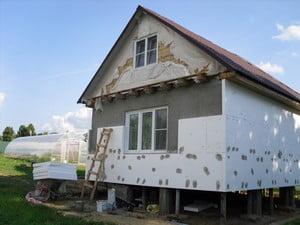Утеплении фасада в своем доме