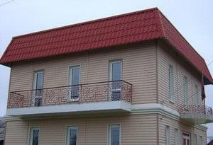 Аккуратный фасад дома
