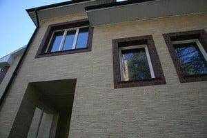 Фасадная стена дома