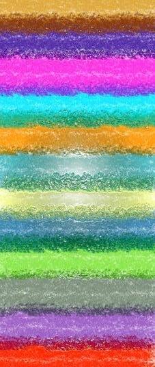 Разноцветные полосы краски