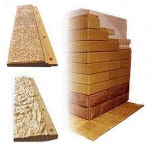Пример бетонного сайдинга