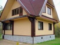 Дом сайдингом