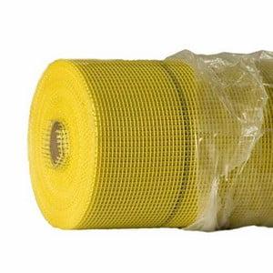 Желтая фасадная сетка