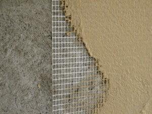 Металлическая сетка под штукатуркой