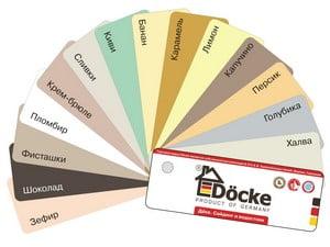 Выбор цвета сайдинга Деке