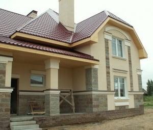 Фасад с керамогранитом