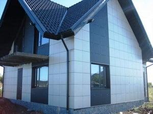 Использование керамогранита для фасада