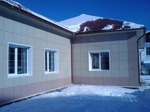 Керамогранит для фасада дома
