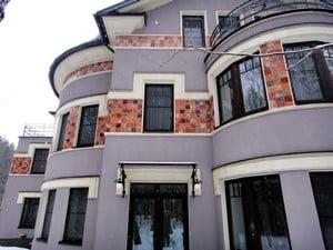Керамика для отделки фасада частного дома