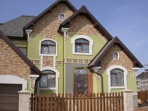 Необычный красивый дом