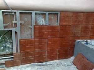 Полимерпесчаная фасадная панель