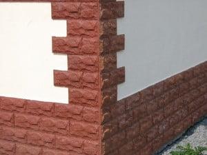 Плитка Каньон для отделки фасада