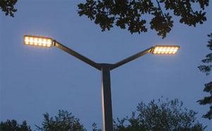 Двойной LED-фонарь