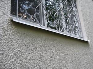 Оштукатуренная стена фасада