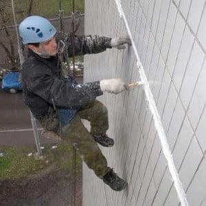 ремонт швов на фасаде