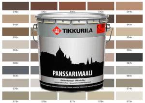 Краска Тиккурила с палитрой