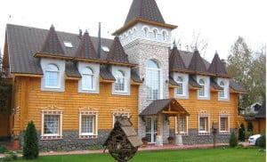 Отделка фасада в романтическом стиле
