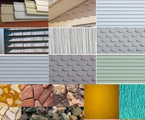 Материалы для облицовки фасада дома