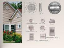 Разнообразие фасадных решеток