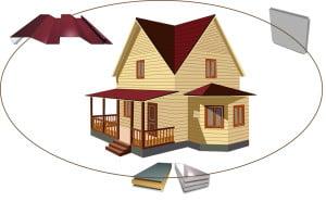 Дом и панели для отделки дома