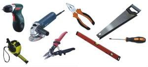 Инструменты для отделки сайдингом